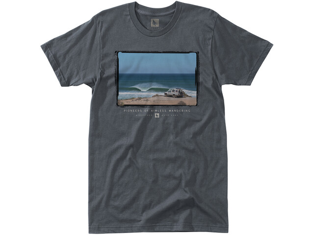 Hippy Tree Trekker T-Shirt Homme, charcoal